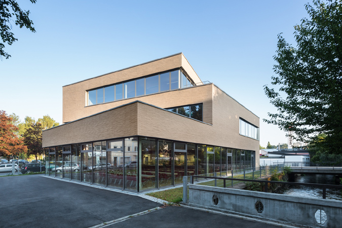 neubau gymnasium alleestrasse siegburg roemerpartner. Black Bedroom Furniture Sets. Home Design Ideas