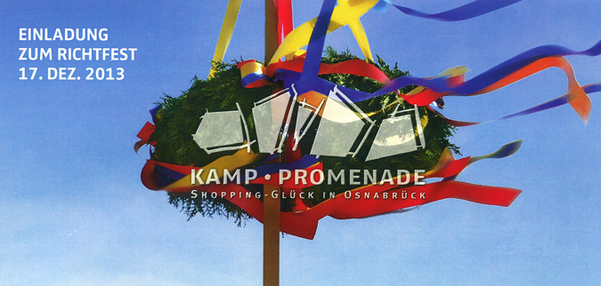richtfest kamp-promenade  osnabrück