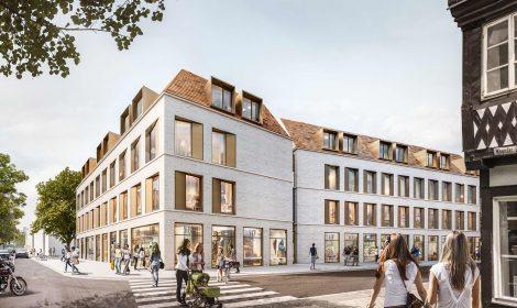 Wettbewerb Wohn-und Geschäftshaus in Göppingen