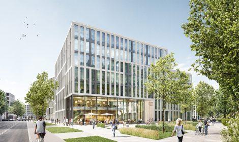 2. Preis / 2st Prize Wettbewerb Büro – Campus – Deutz in Köln